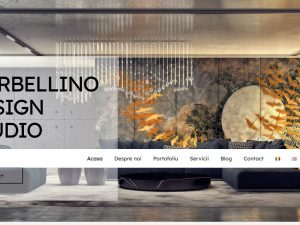 Creare site Design interior specializat